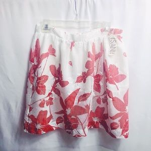 b024b0b7a Isani for Target red and white skirt